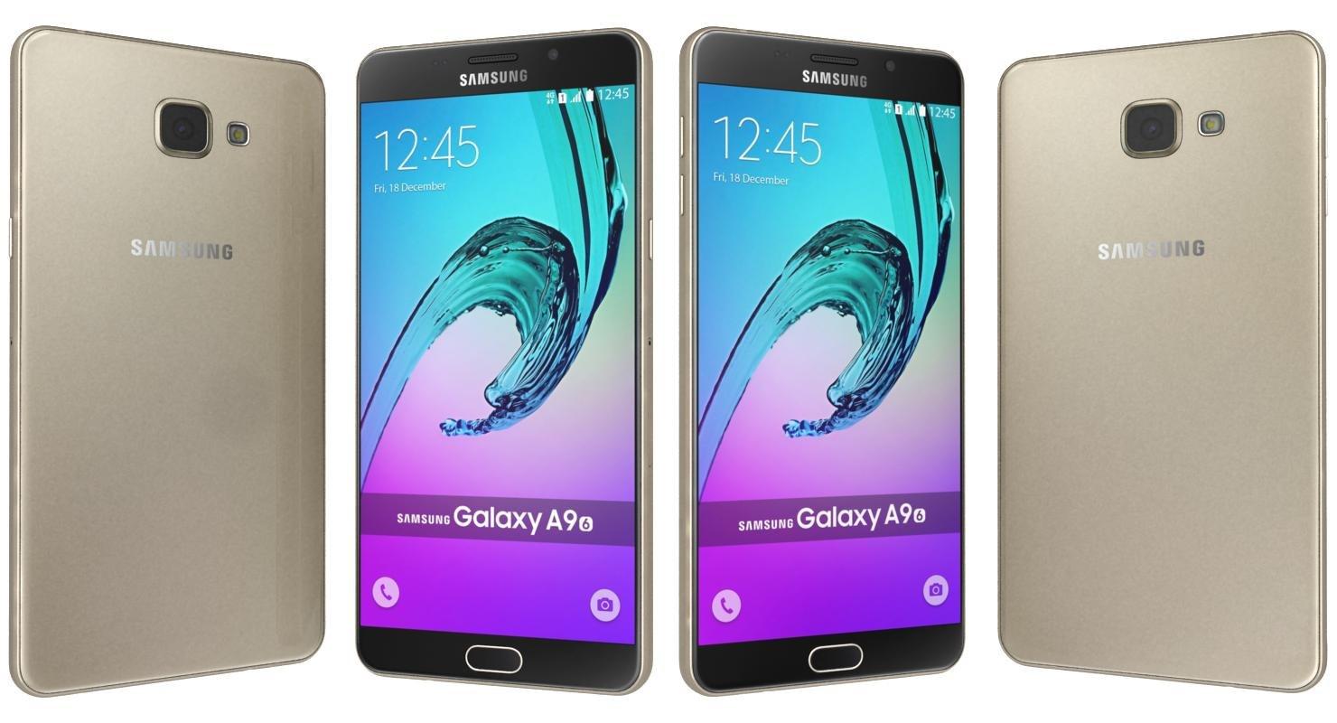 3d samsung galaxy a9 pro model