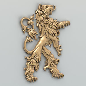 3d model animal decor