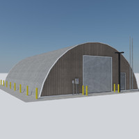 - quonset military building max
