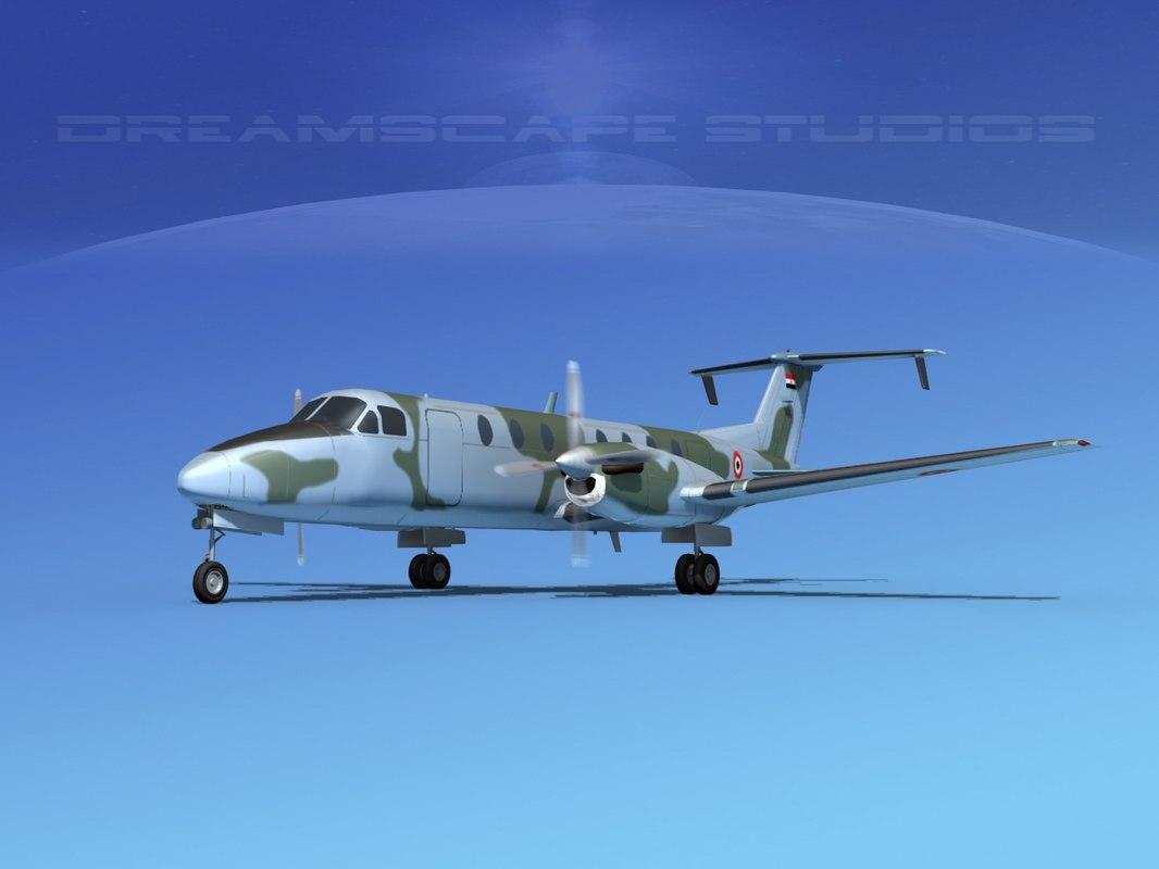 beechcraft c-12j transport max