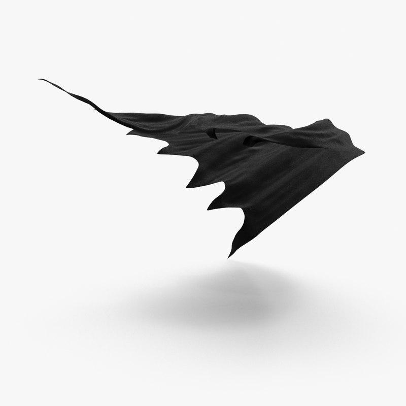 batman cape blowing max
