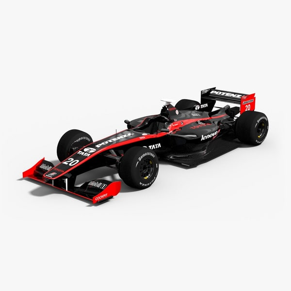 3d super formula team impul model