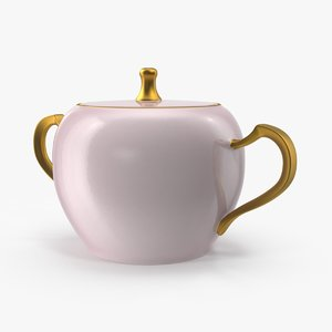 3d sugar bowl