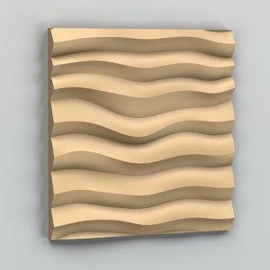 3d decorative wall panel
