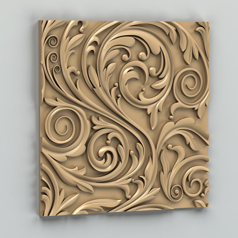 decorative wall panel 3d x
