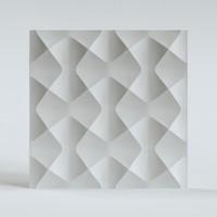 3D panel wavy