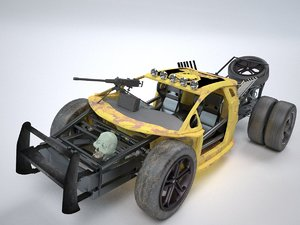 3d mad buggy model