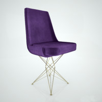 3d model arketipo athena chair