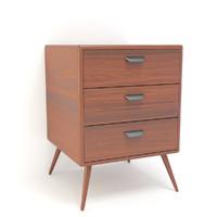 retro cupboard 3d model