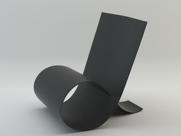 niels hvass loop chair max