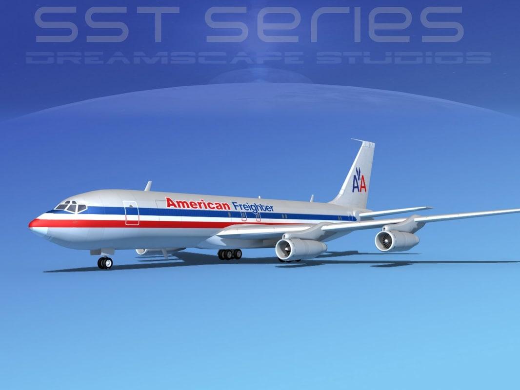 x 707-320 boeing 707