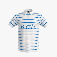 3d polo shirt men model