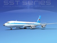 707-320 boeing 707 dxf
