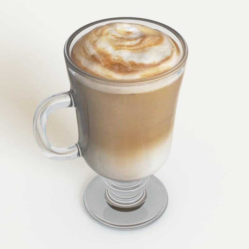 latte 3d model