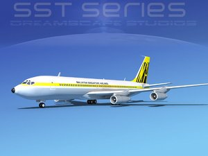 707-320 boeing 707 airliner max