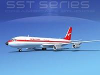 707-320 boeing 707 3ds