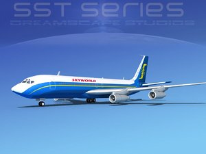 dxf 707-320 boeing 707