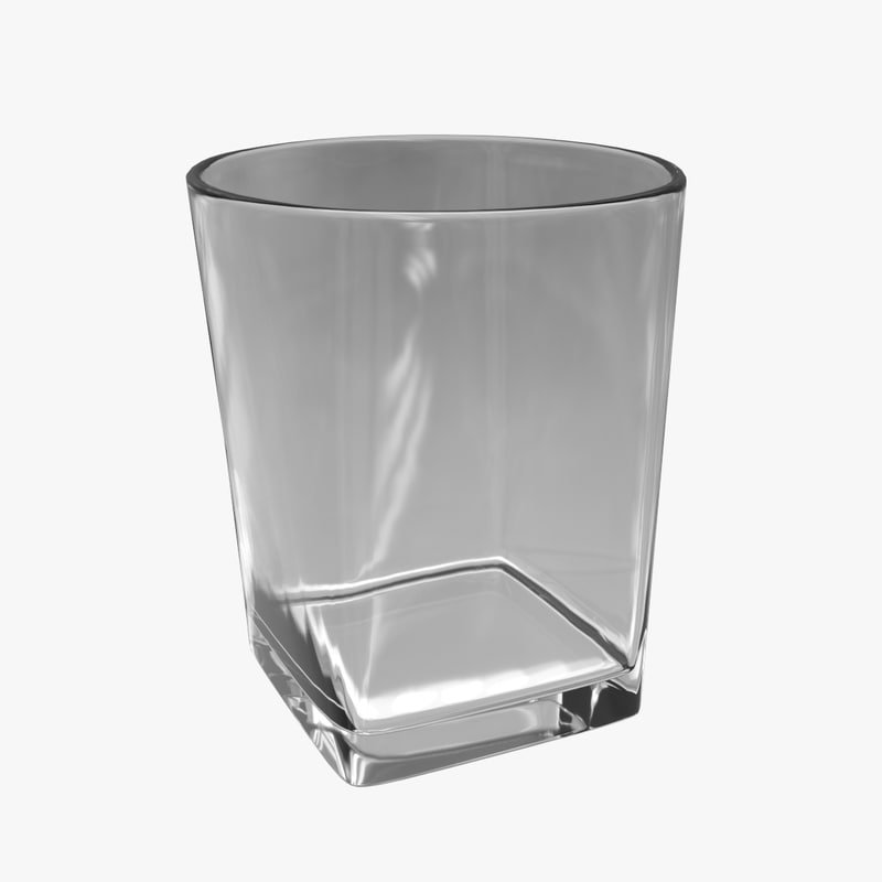 3ds whiskey glass 01