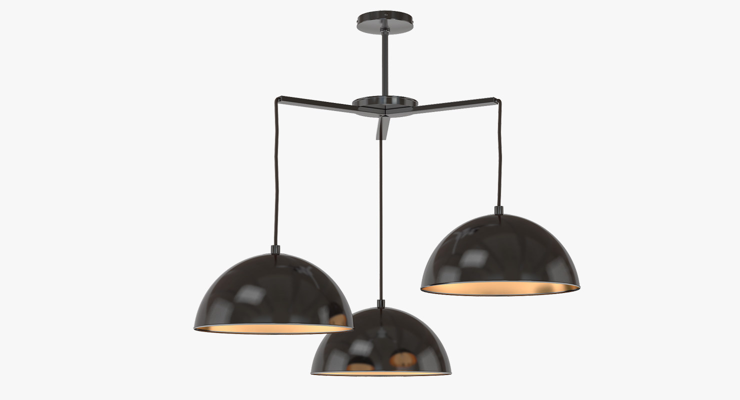 3d chandelier brandt pendant model