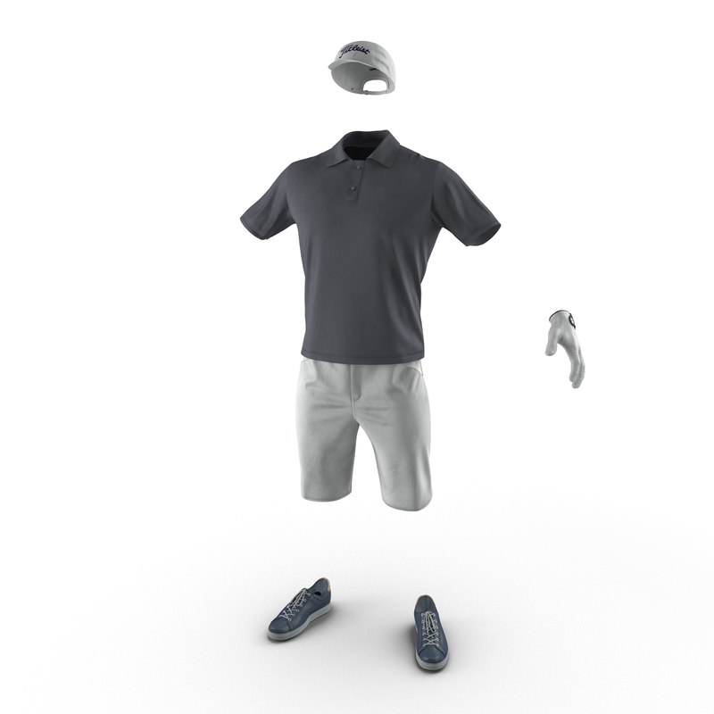3d golf clothes 2