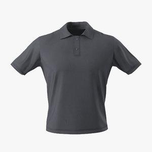 t-shirt 3 3d model