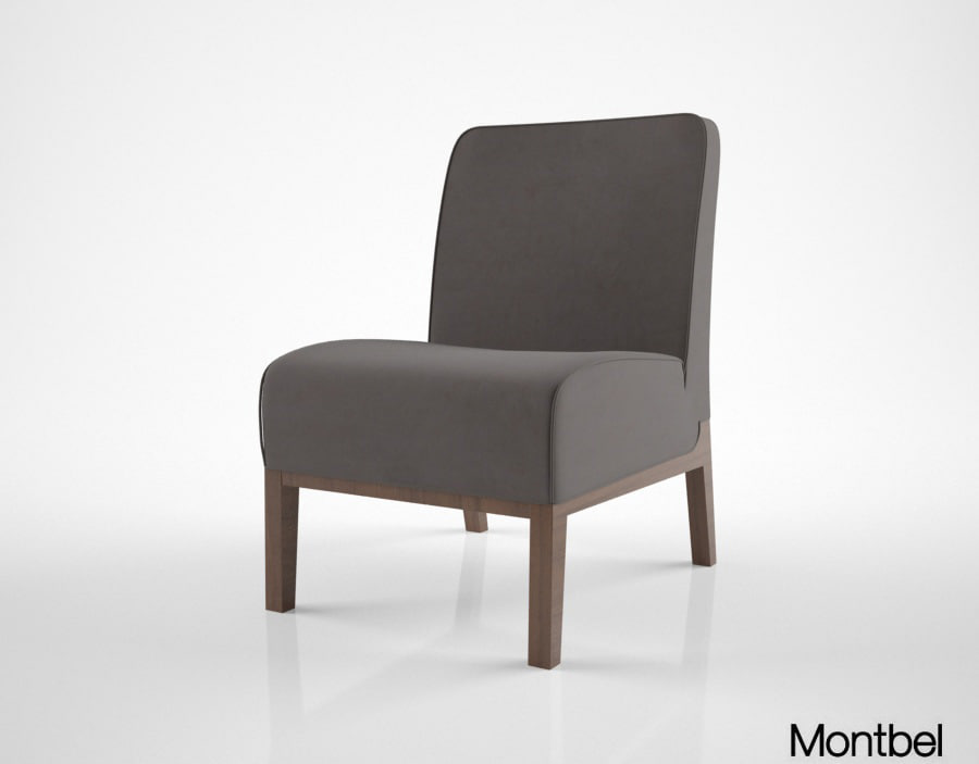 montbel opera lounge chair 3d max