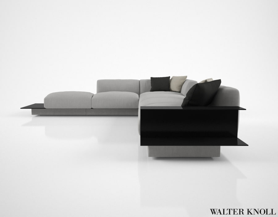 3d walter knoll yuuto sofa. Black Bedroom Furniture Sets. Home Design Ideas