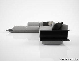 3d walter knoll yuuto sofa