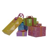 gift box obj