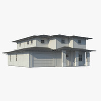 3d max family house