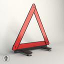 Reflector traffic sign