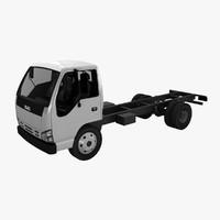 isuzu nqr 75 truck 3d model