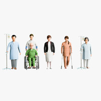 Medical People 04(Patient)