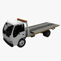 3d isuzu tow truck