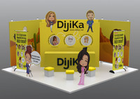3d 3ds exhibition stand