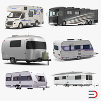 Motorhomes and Caravans Collection