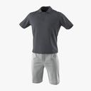 shorts 3D models