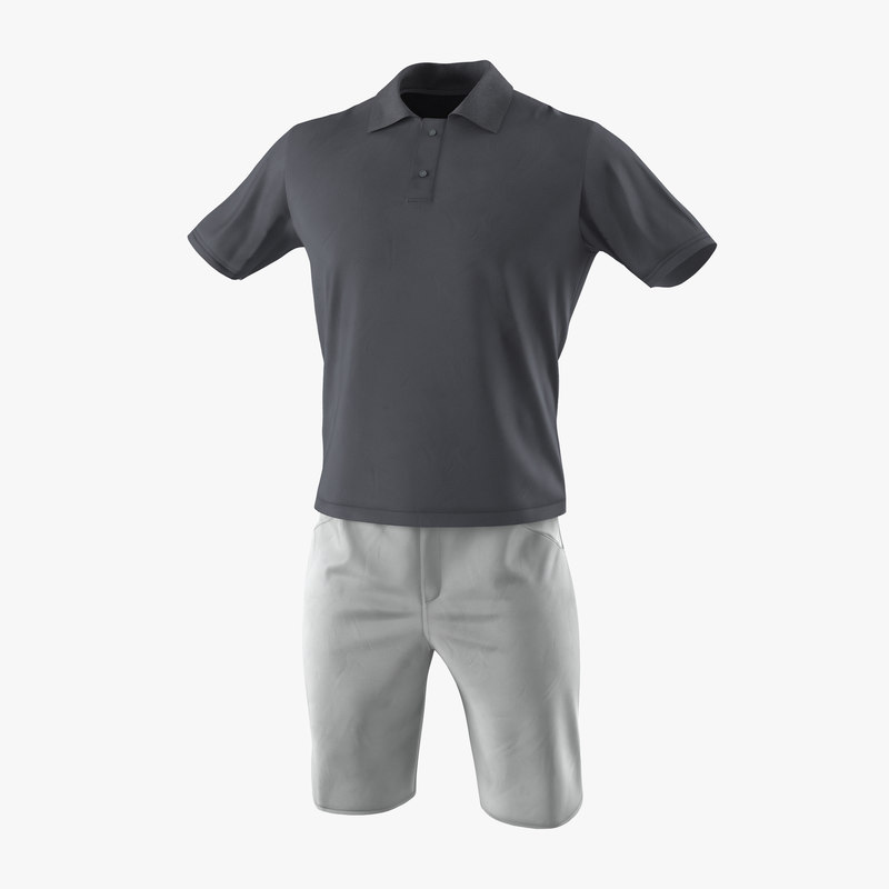 c4d mens casual clothes 4