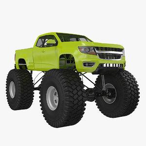 monster truck 3d 3ds