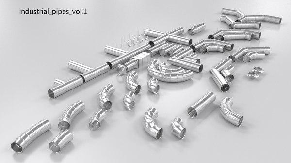 3d industrial pack model