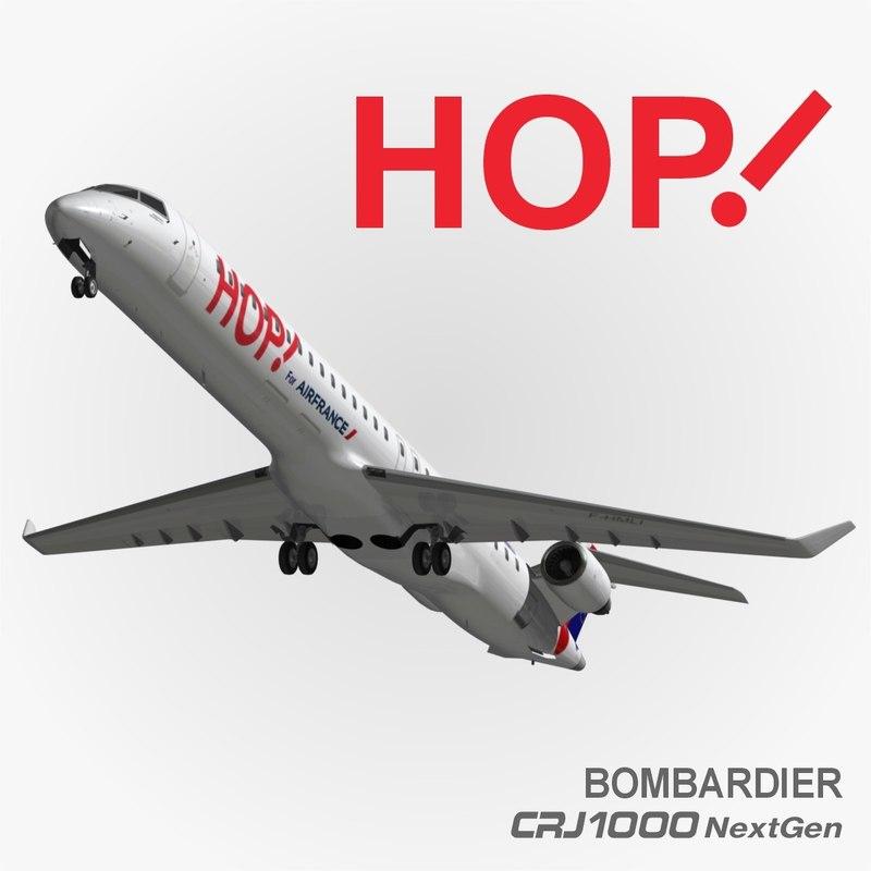 3d hop air france