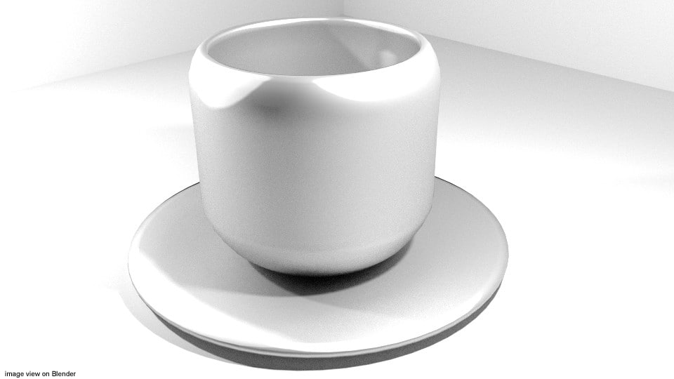 cup dishware 3d 3ds