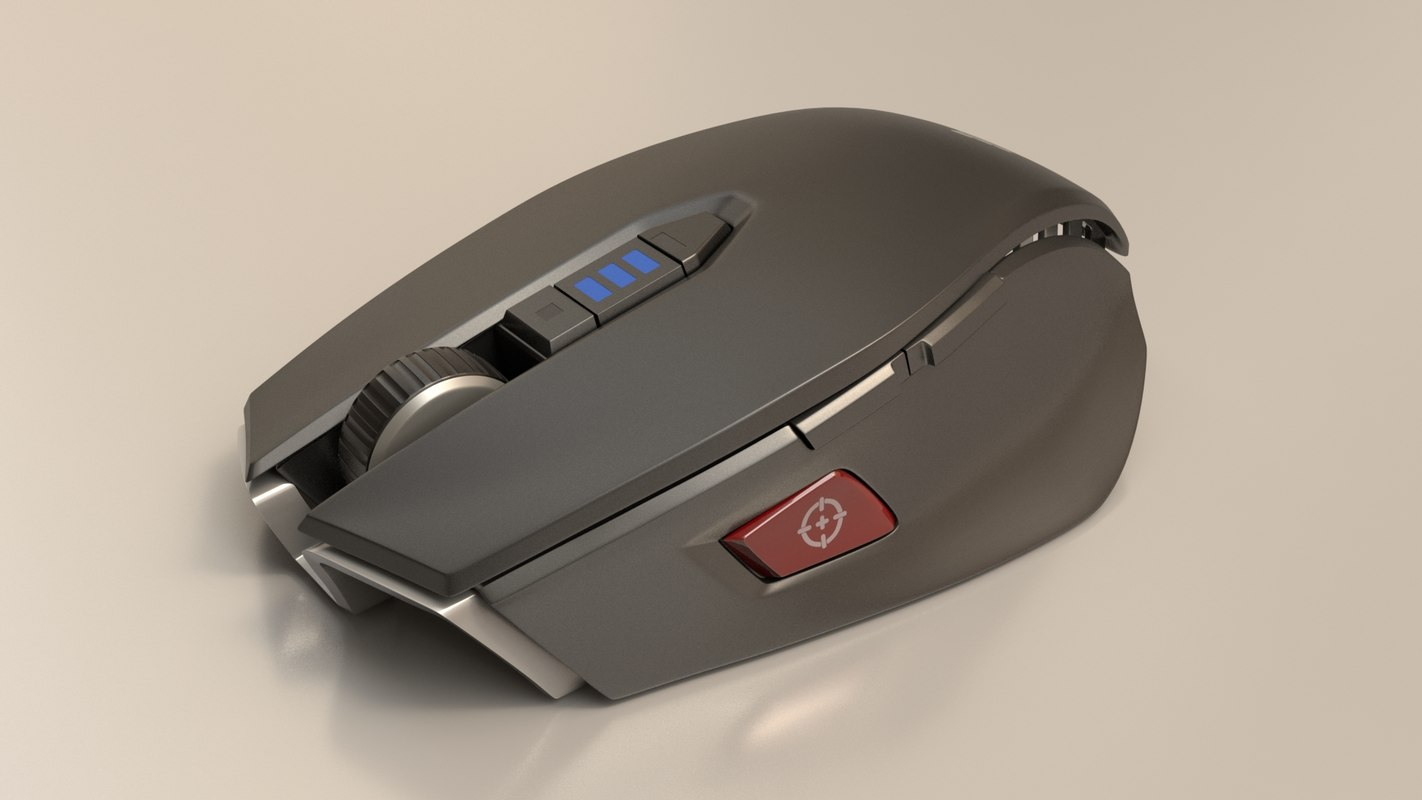 3d corsair m65 mouse