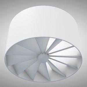 swirl diffuser 3d model