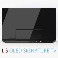 LG Signature 4K TV OLED 65 Inch 2016