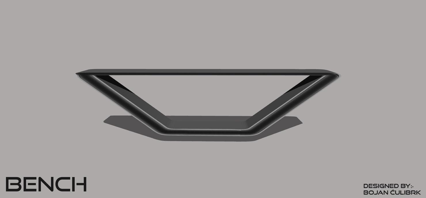 3d andromeda bench