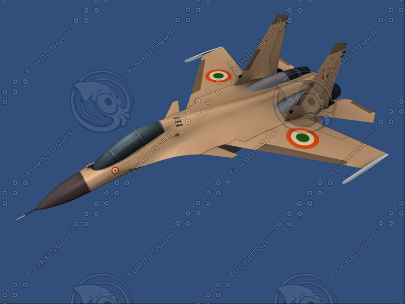 SU 30 MKI,indian jet, fighter plane, fighter jet, low poly, game ready, jet