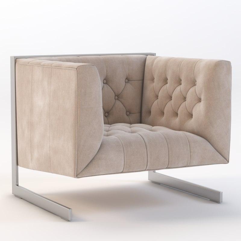 sunpan chair 3d 3ds