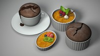 Souffle and Creme Brulee