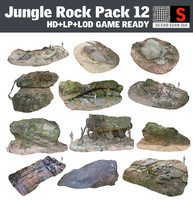 Jungle Rock Pack 12